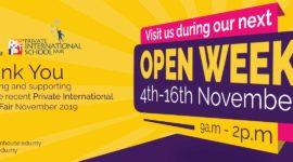 Open Week November 2019